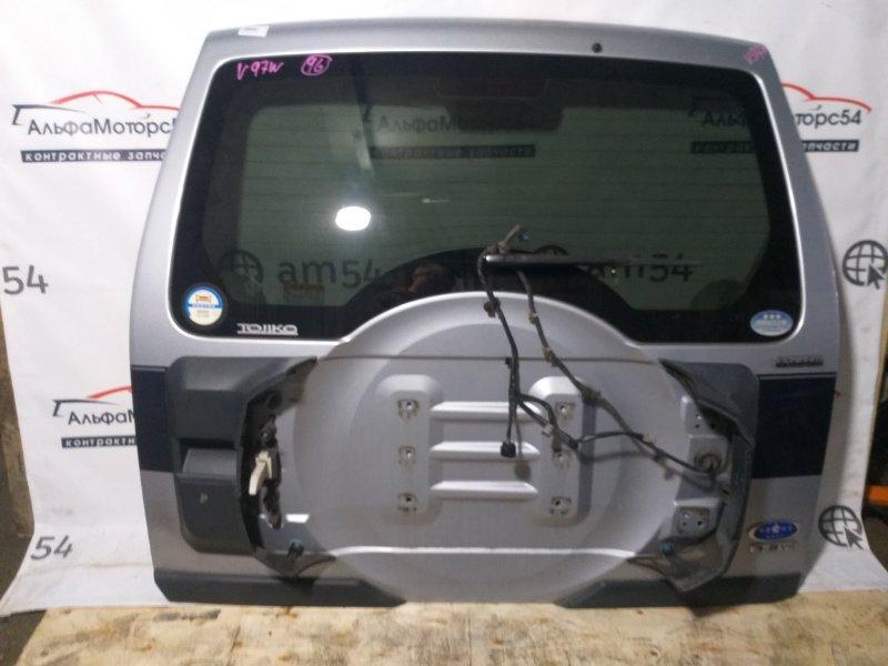Дверь 5-я Mitsubishi Pajero V93W 6G75 2007