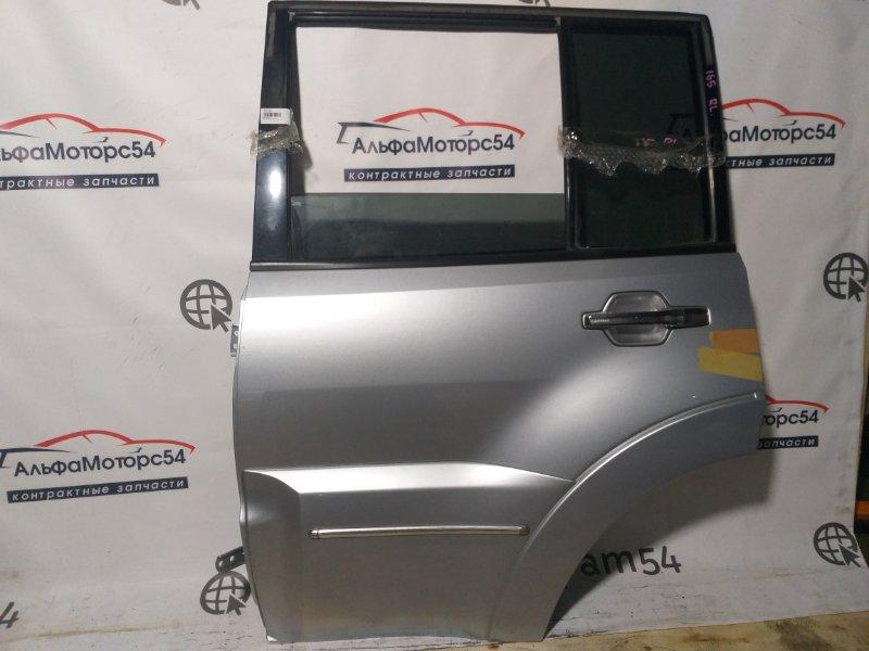 Дверь Mitsubishi Pajero V93W 2007 задняя левая