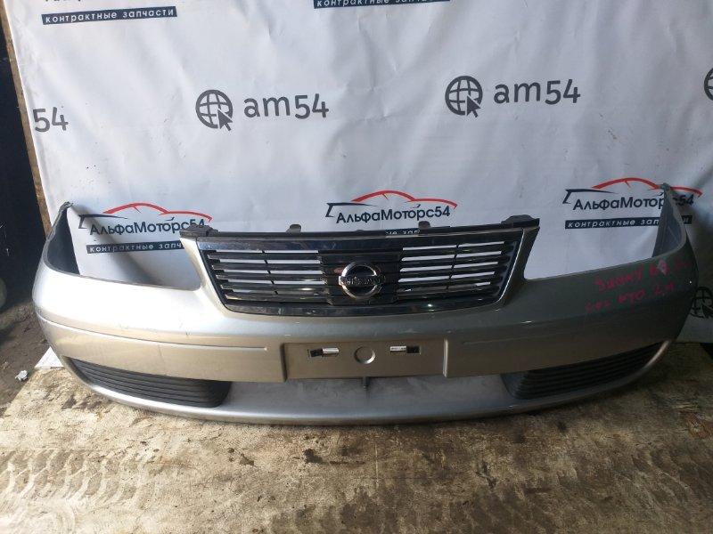 Бампер Nissan Sunny B15 QG15DE 2003 передний
