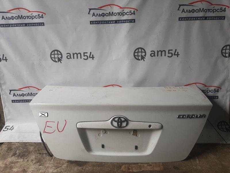Крышка багажника Toyota Corolla NZE121 1NZ-FE