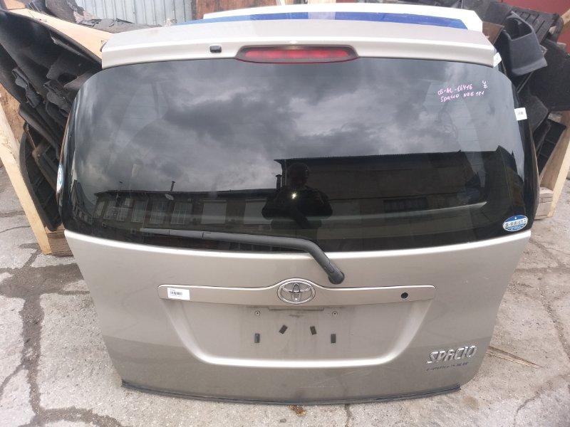 Дверь 5-я Toyota Corolla Spacio NZE121 1NZ-FE 2003