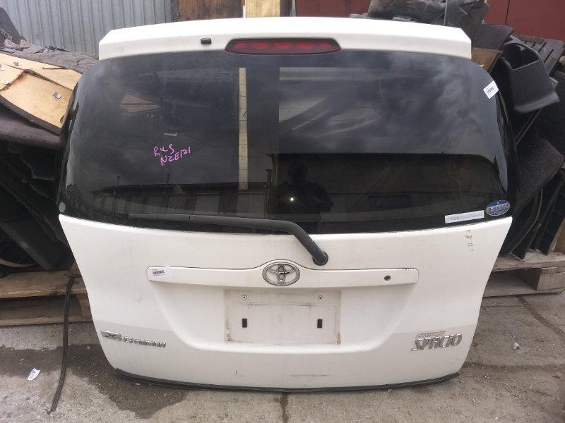 Дверь 5-я Toyota Corolla Spacio NZE121 1NZ-FE