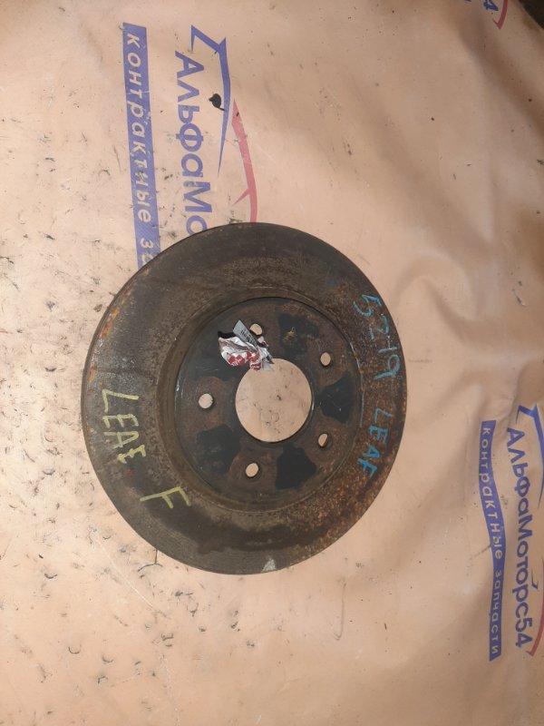 Тормозной диск Nissan Leaf ZEO EM57 2013 передний