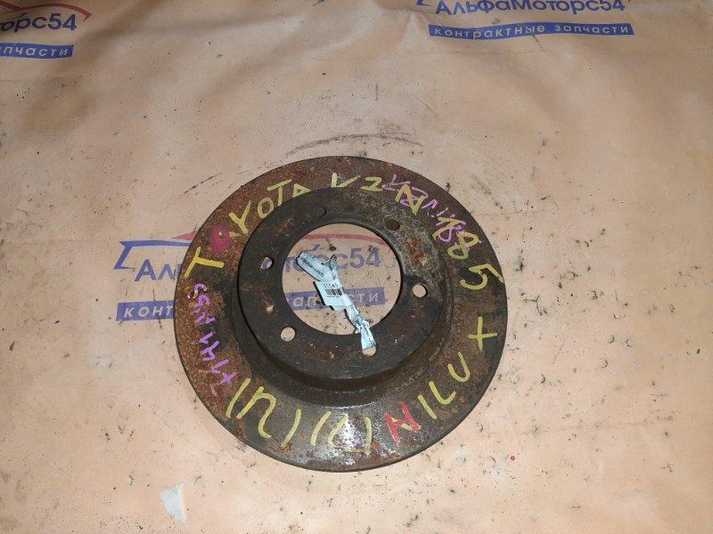 Тормозной диск Toyota Hilux Surf KZN185 1KZ-TE передний