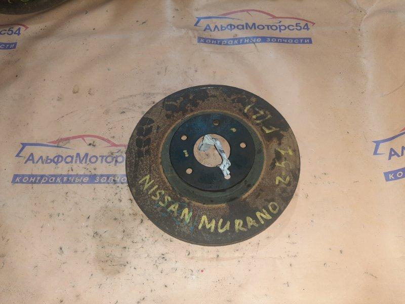 Тормозной диск Nissan Murano Z51 QR25DE передний левый