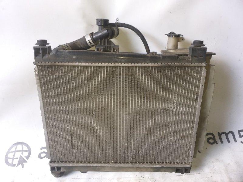 Радиатор основной Toyota Vitz NCP10 1NZ-FE