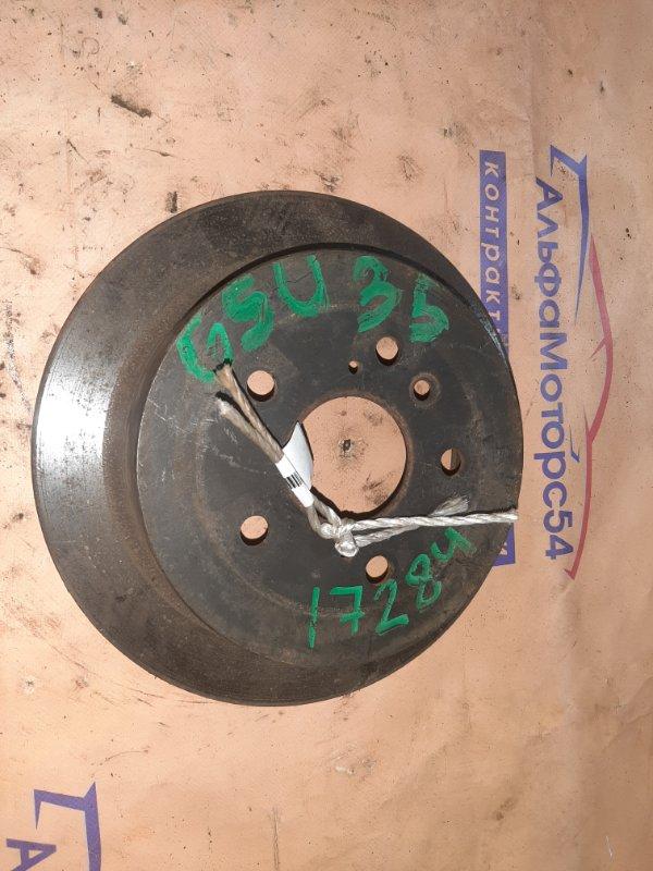 Тормозной диск Toyota Harrier GSU35 задний правый
