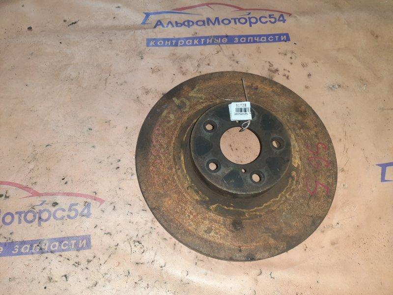 Тормозной диск Subaru Forester SG5 EJ202 передний правый