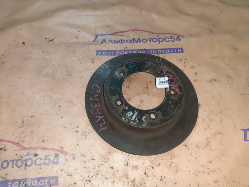 Тормозной диск Suzuki Escudo TA01W G16A 1996 передний правый