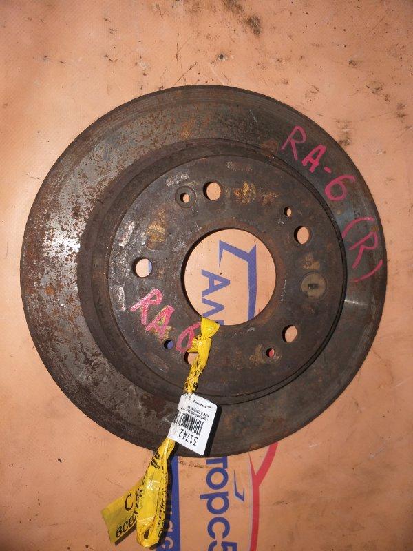 Тормозной диск Honda Odyssey RA6 задний левый