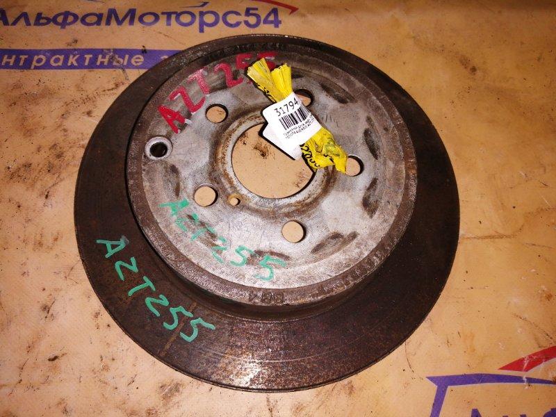 Тормозной диск Toyota Avensis AZT255 задний правый