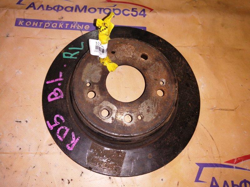 Тормозной диск Honda Cr-V RD5 задний левый