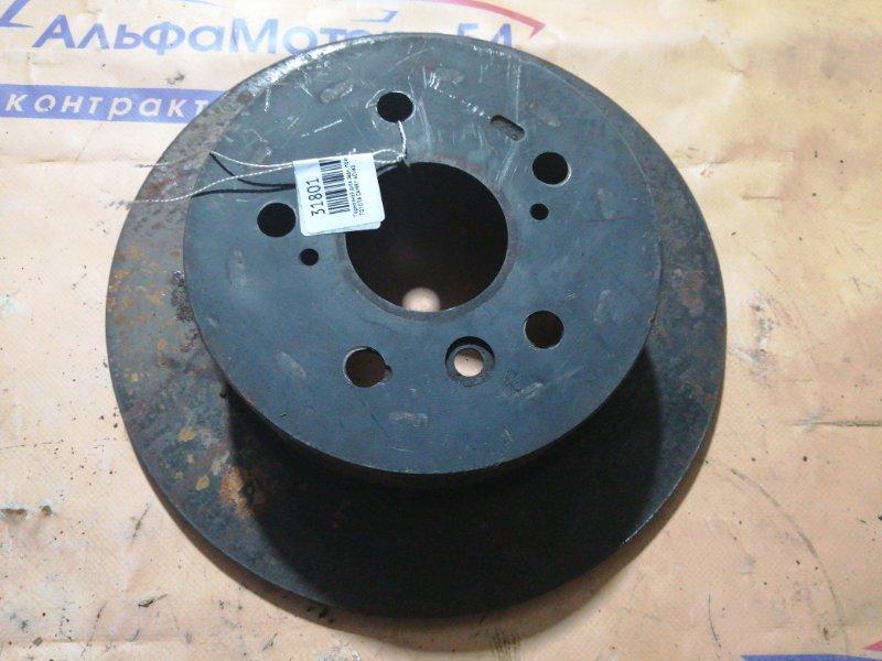 Тормозной диск Toyota Camry ACV40 задний правый