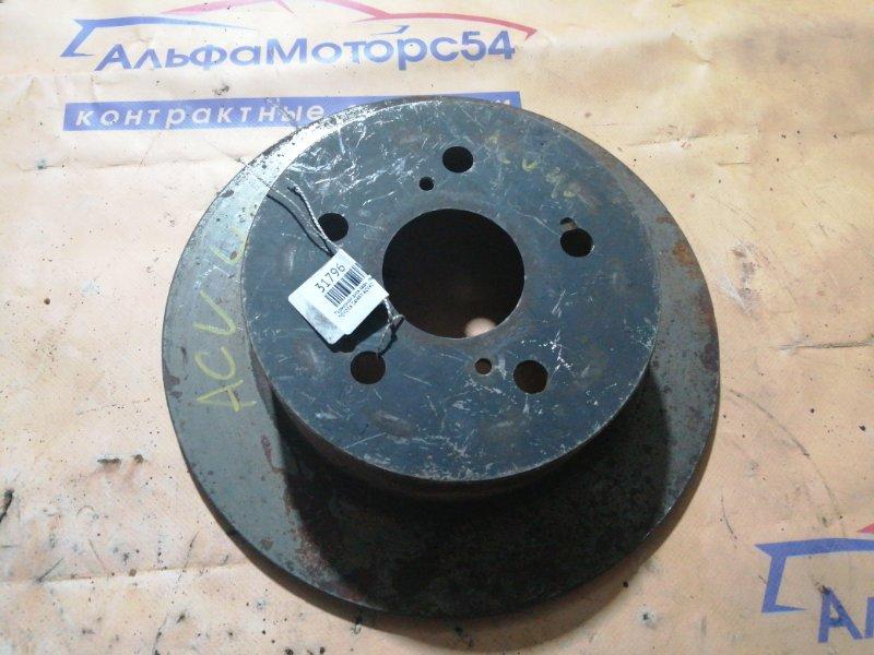 Тормозной диск Toyota Camry ACV40 задний левый