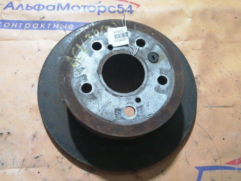 Тормозной диск Toyota Camry ACV30 задний правый