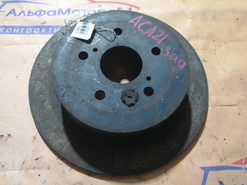 Тормозной диск Toyota Rav4 ACA21 задний левый