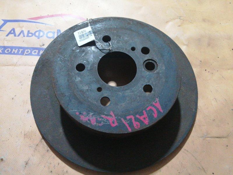 Тормозной диск Toyota Rav4 ACA21 задний правый