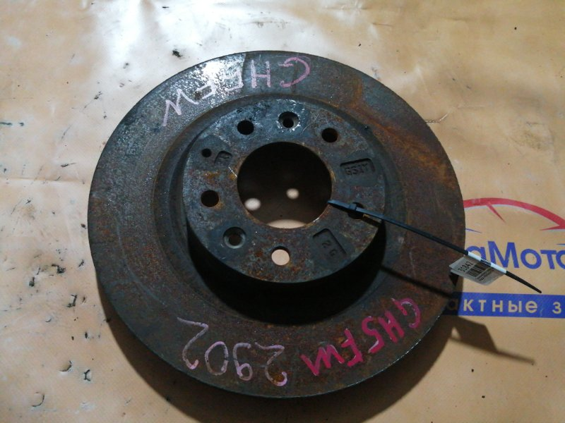Тормозной диск Mazda Atenza GH5FW передний левый