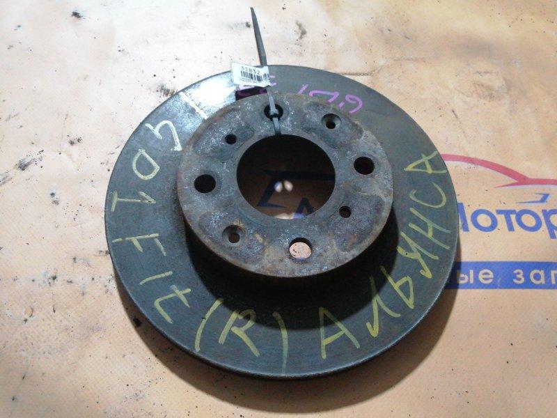 Тормозной диск Honda Fit GD1 передний правый