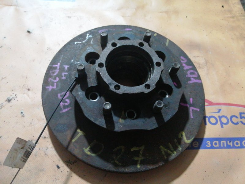 Тормозной диск Nissan Terrano WBYD21 TD27T передний правый