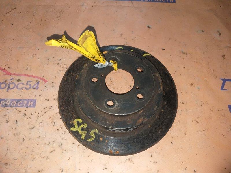 Тормозной диск Subaru Forester SG5 EJ202 2005 задний