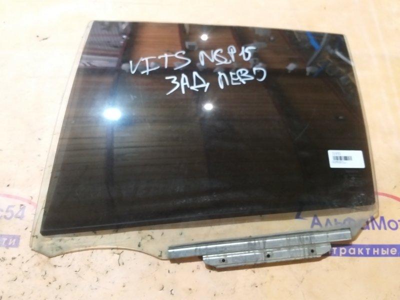 Стекло двери Toyota Vitz SCP10 1SZ-FE заднее левое