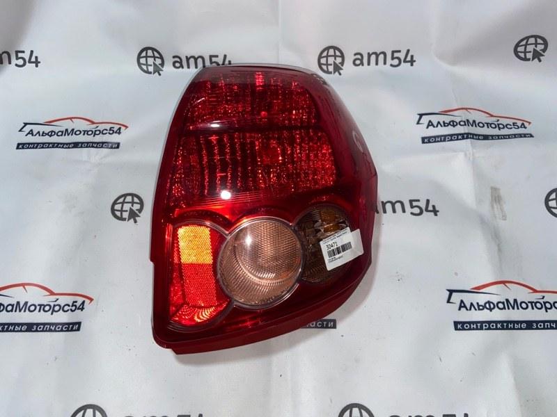 Стоп-сигнал Toyota Auris NZE151 1NZ-FE 2007 задний левый