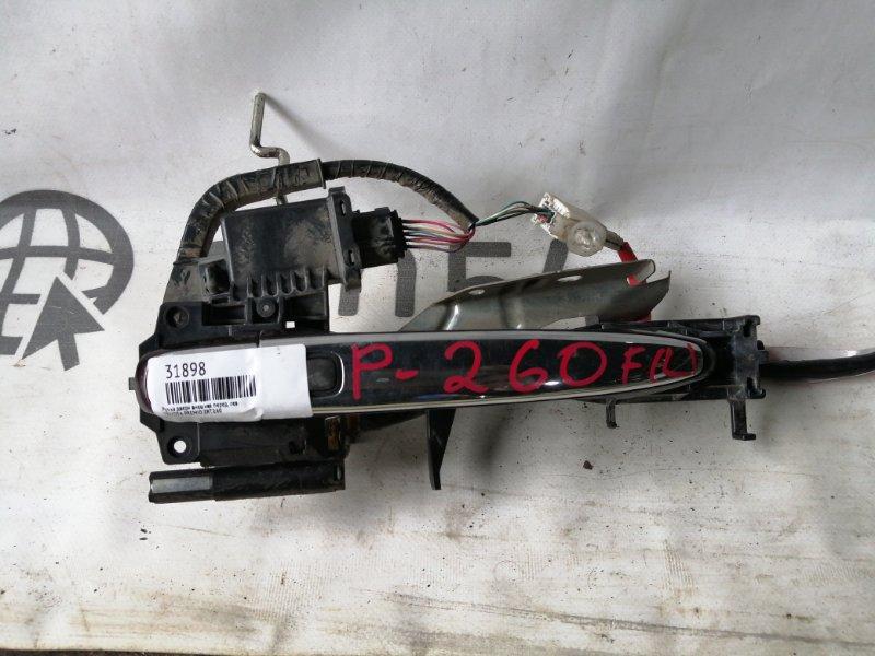 Ручка двери внешняя Toyota Premio ZRT260 2ZR-FE передняя левая