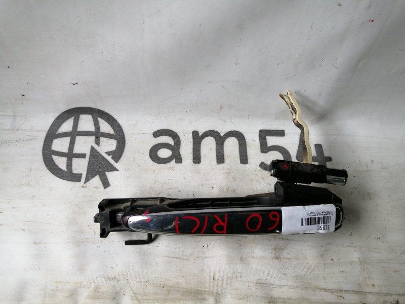 Ручка двери внешняя Toyota Premio ZRT260 2ZR-FE задняя левая