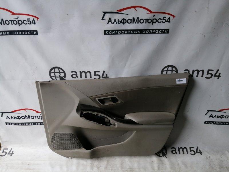 Обшивка дверей Toyota Premio ZRT260 2ZR-FE передняя правая
