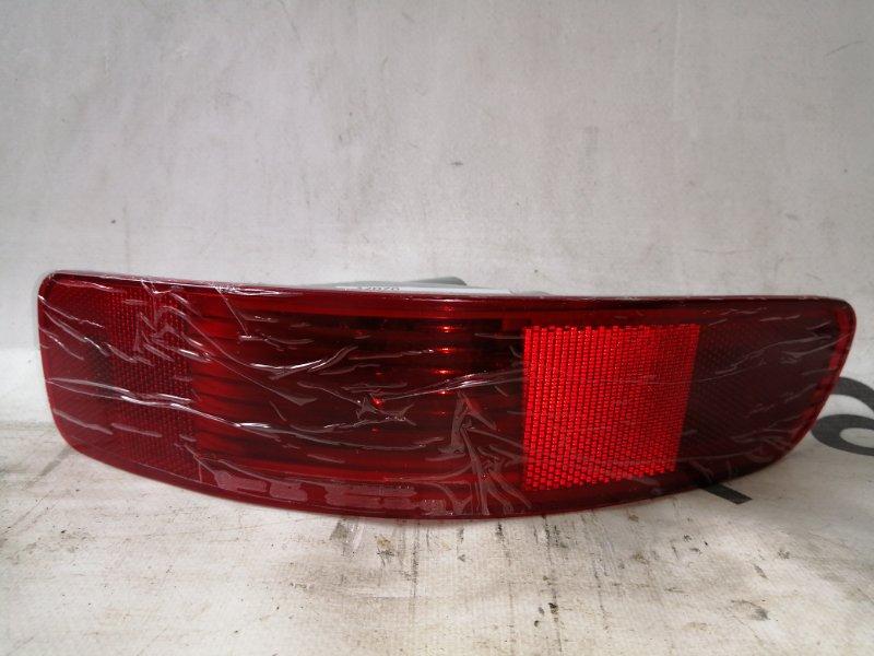 Катафот в бампер Nissan Qashqai