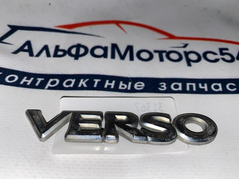Эмблема Toyota Yaris