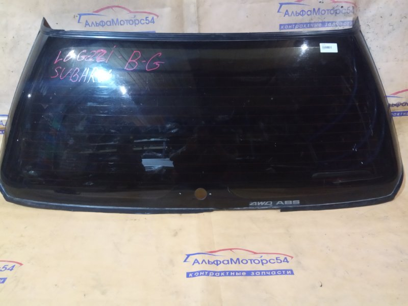 Стекло двери 5-й Subaru Legacy BG 1995