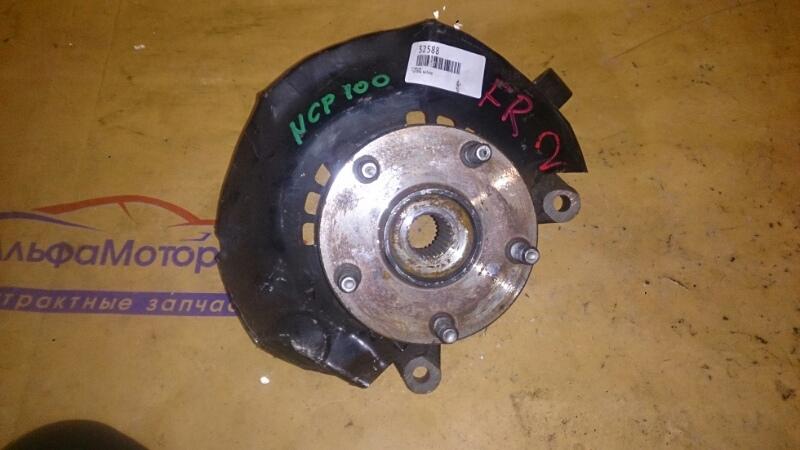 Ступица Toyota Ractis NCP100 1NZ-FE 2007 передняя правая