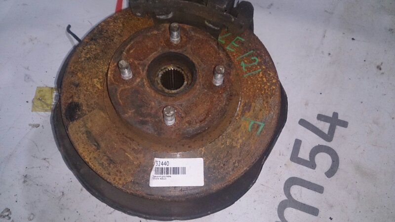 Тормозной диск Toyota NZE121 передний