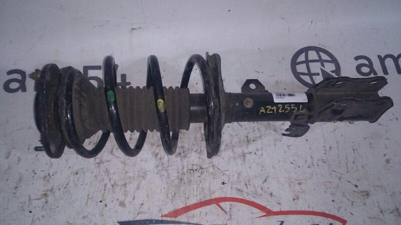 Стойка Toyota Avensis AZT255 1AZ-FSE 2005 передняя левая