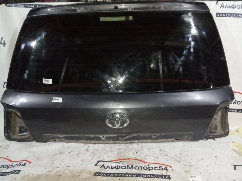 Дверь 5-я Toyota Land Cruiser UZJ200 2UZ-FE 2008