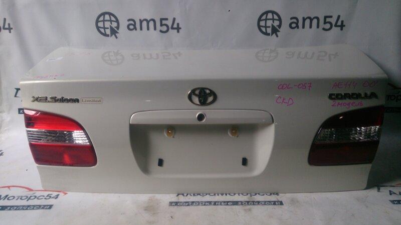 Крышка багажника Toyota Corolla AE110 5A-FE 2000