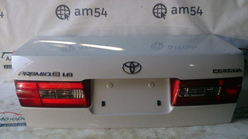 Крышка багажника Toyota Corona Premio ST210 3S-FE 2000