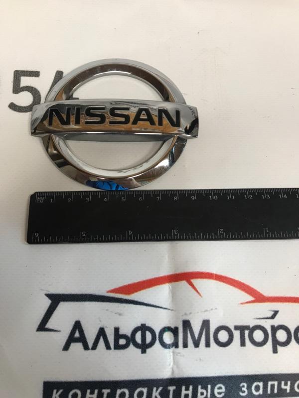 Эмблема Nissan Wingroad Y12