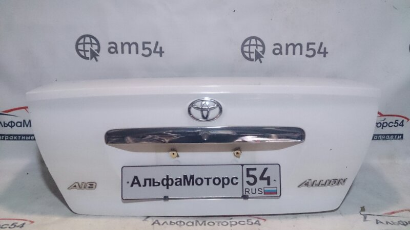 Крышка багажника Toyota Allion ZZT240 1ZZ-FE 2003