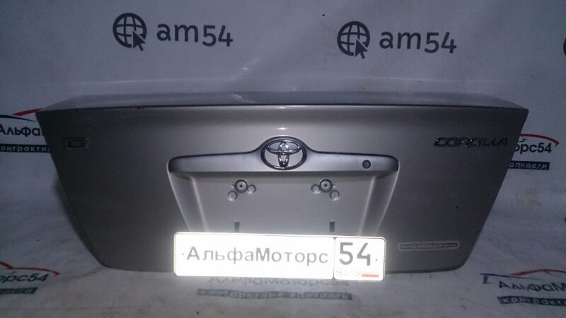 Крышка багажника Toyota Corolla NZE121 1NZ-FE 2001