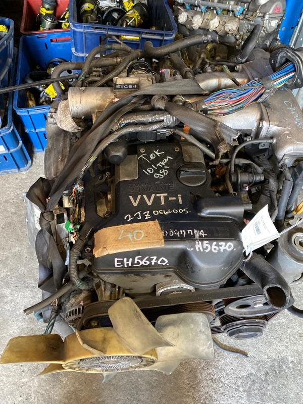 Двигатель Toyota Crown JZS155 2JZ-GE 1998