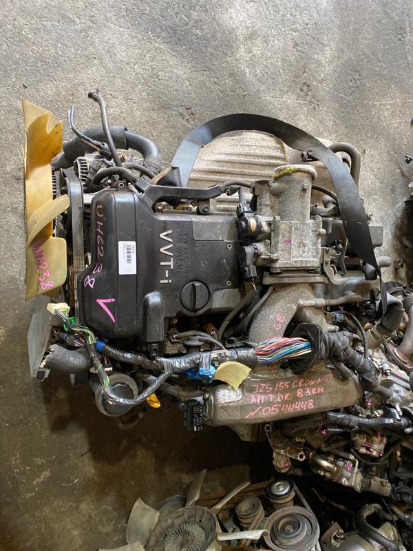 Двигатель Toyota Crown JZS155 2JZ-GE 1997