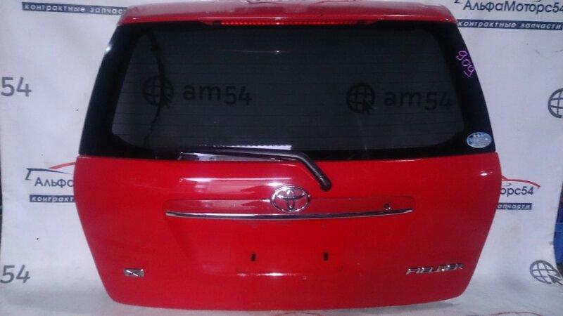 Дверь 5-я Toyota Corolla Fielder NZE121 1NZ-FE 2003