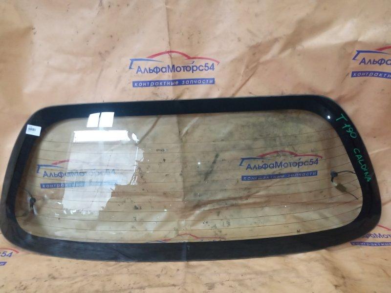 Стекло двери 5-й Toyota Caldina AT191 4A-FE 1995