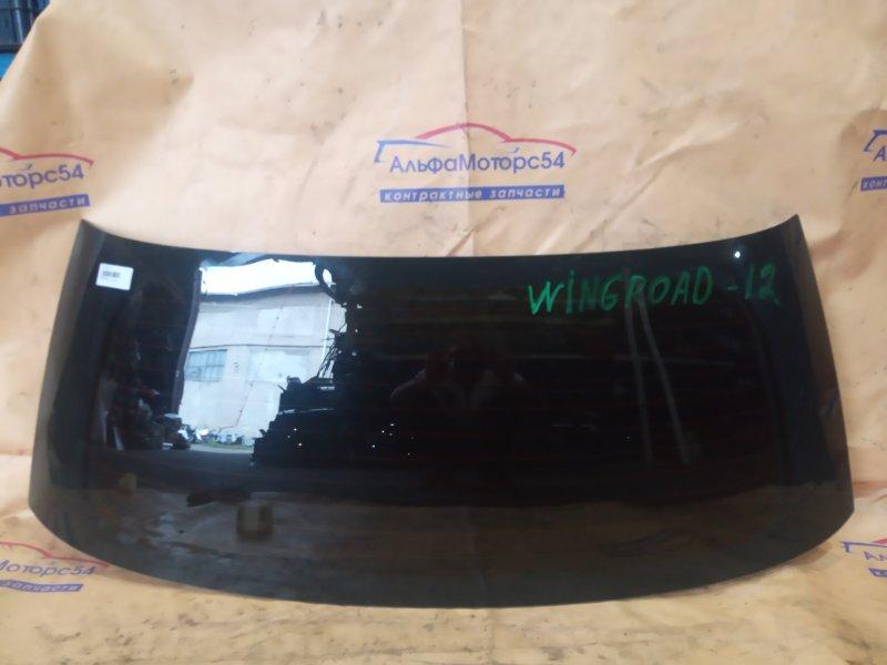 Стекло двери 5-й Nissan Wingroad Y12 HR15DE 2007