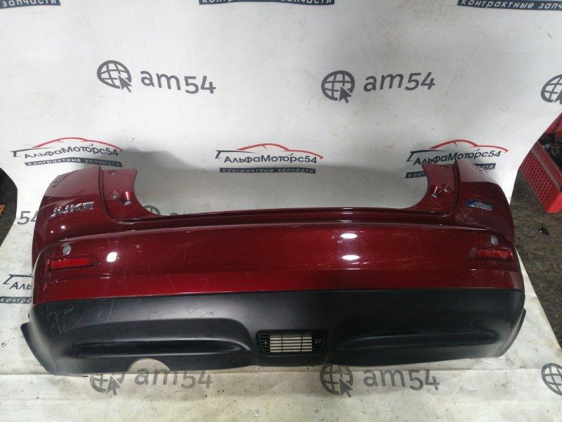 Бампер Nissan Juke F15 HR15DE 2011 задний