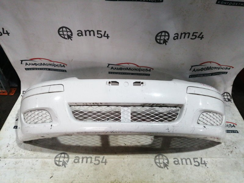 Бампер Toyota Vitz NCP10 2NZ-FE 2003 передний