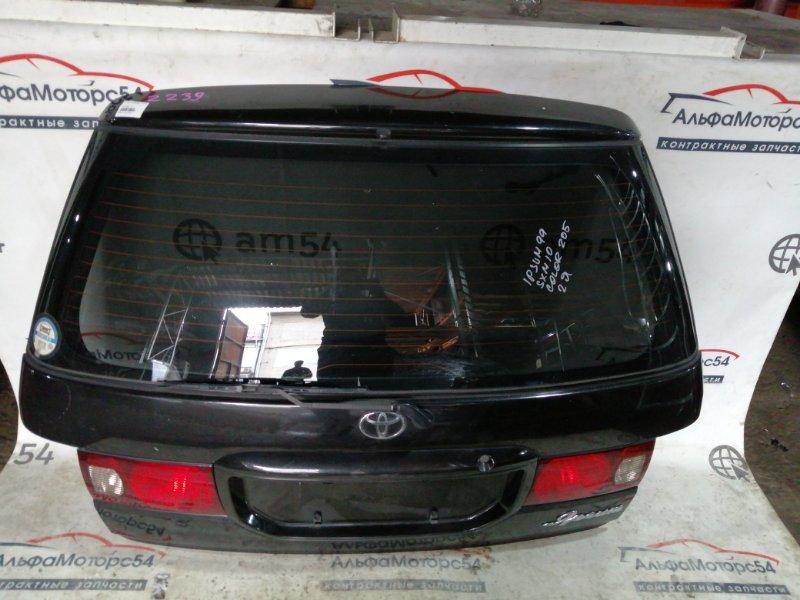 Дверь 5-я Toyota Ipsum SXM10 3S-FE 2001